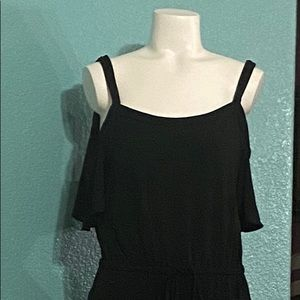 NWT Max studio cold shoulder jumpsuit